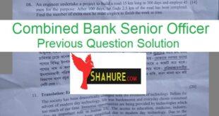 bank Previous Question