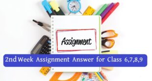 2nd Week Assignment