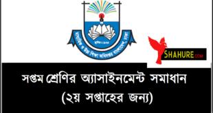 Class 7 Assignment logo