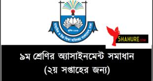 Class 9 Assignment logo