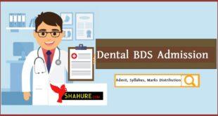 Dental BDS Admission Admit