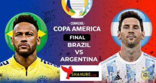 Argentina VS Brazil Copa America Final Match Live