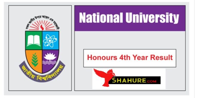 honours 4th year exam result