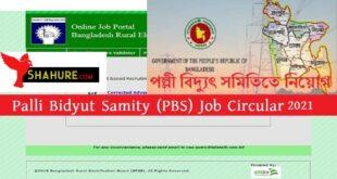 PBS Job Circular 2021