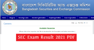 SEC Exam Result