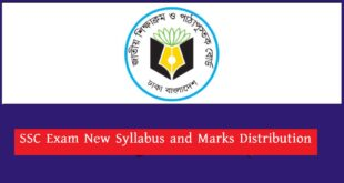 SSC New Syllabus and Marks Distribution