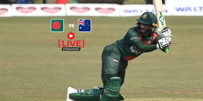 Bangladesh vs Australia T20 Series Live Streaming