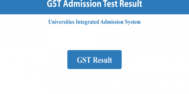 GST Admission Primary Selection Result