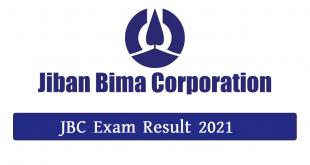 JBC Jobs Exam Result 2021