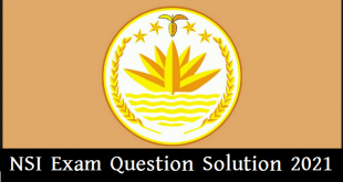 NSI Exam Question Solution