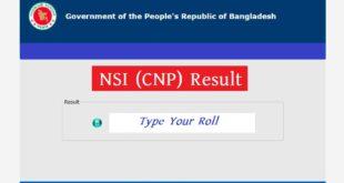 NSI Junior Field Officer Result